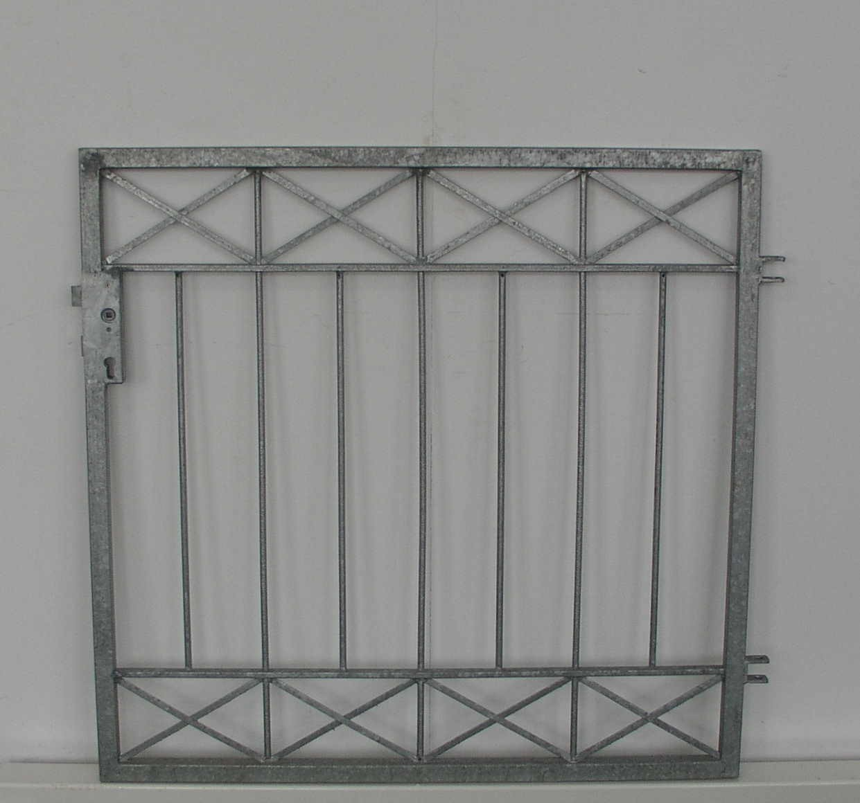 gartent r gartentor pforte crossline ft100 120 zink ebay. Black Bedroom Furniture Sets. Home Design Ideas