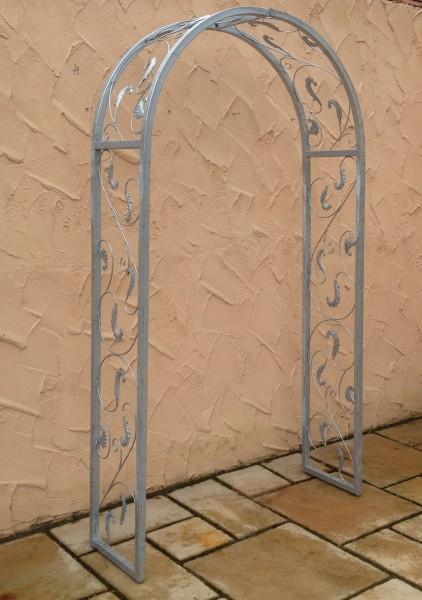 rundbogen rosenbogen laubengang massiv 30 rohr lisbao rb 120 200 verzinkt zink ebay. Black Bedroom Furniture Sets. Home Design Ideas