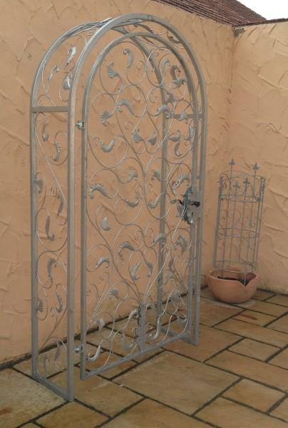 gartent r pforte rosenbogen t r lisbao rbgt rbs 100 220 40. Black Bedroom Furniture Sets. Home Design Ideas