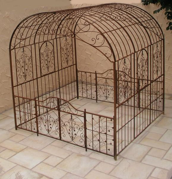 pavillion metall pavillon pavilion laube schmiedeeisen. Black Bedroom Furniture Sets. Home Design Ideas
