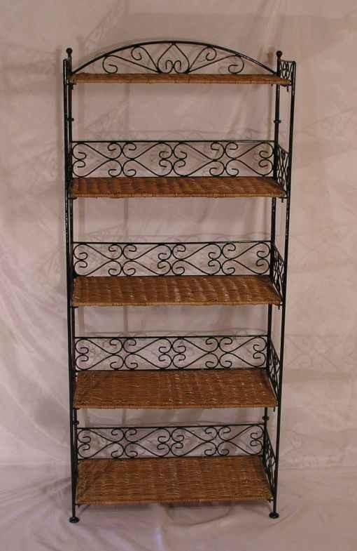 rattan regal rattanregal b cherregal finca 165cm ebay. Black Bedroom Furniture Sets. Home Design Ideas
