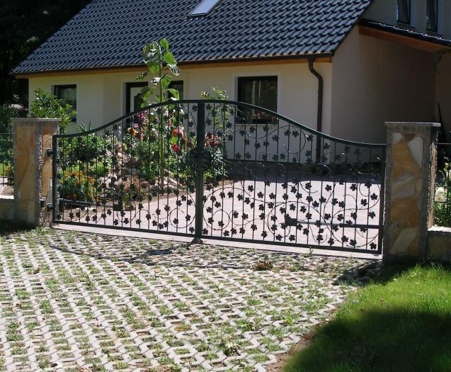 hoftor gartentor tor metall bachus gt450a mit. Black Bedroom Furniture Sets. Home Design Ideas