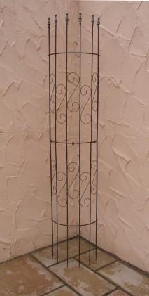 rankgitter spalier rankhilfe fallrohr pisa f clematis roh. Black Bedroom Furniture Sets. Home Design Ideas