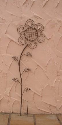 beeindruckend gartendekoration - rankgitter rankstab rankhilfe flower feuerverzinkt gartendekoration rankst be rosenkugeln