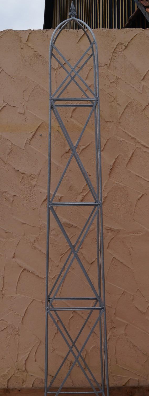 rankstab rankhilfe obelisk rosenstab clematis alina xxl. Black Bedroom Furniture Sets. Home Design Ideas