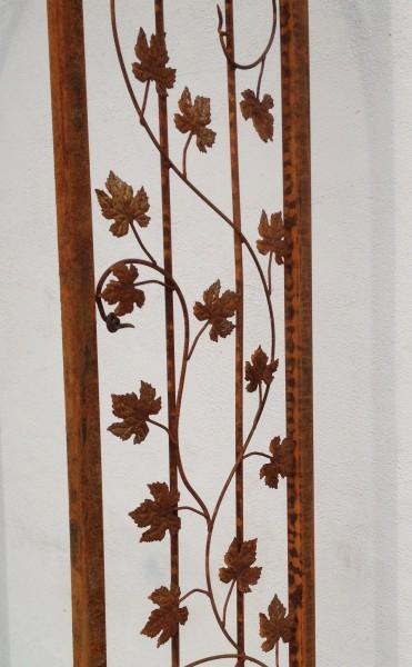 sehr massiver rundbogen rosenbogen bachus rb filigran 120 200 roh rost rostig ebay. Black Bedroom Furniture Sets. Home Design Ideas