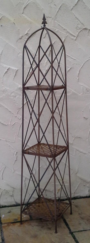 spalier rankhilfe obelisk blumenregal blumentreppe. Black Bedroom Furniture Sets. Home Design Ideas