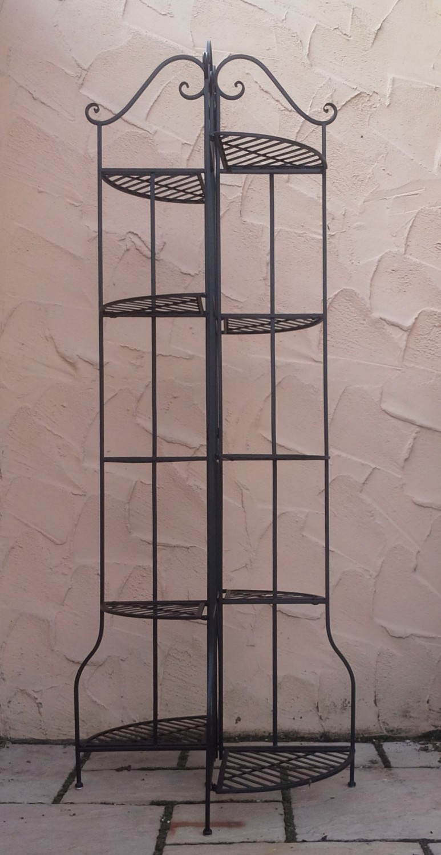 landhaus blumenregal blumentreppe pflanzentreppe. Black Bedroom Furniture Sets. Home Design Ideas