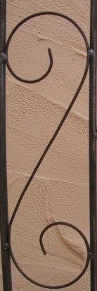 rankgitter spalier rankhilfe fallrohr pisa xxl clematis. Black Bedroom Furniture Sets. Home Design Ideas