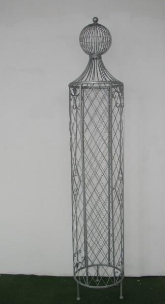 garten rankstab rankhilfe pfosten obelisk wells xxl 225cm feuer verzinkt gartengestaltung. Black Bedroom Furniture Sets. Home Design Ideas