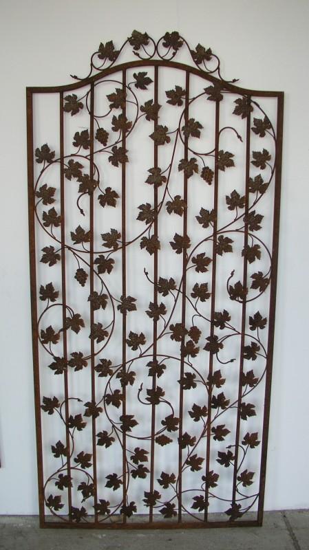rankgitter spalier rankhilfe bachus sbrg 100 200 rost. Black Bedroom Furniture Sets. Home Design Ideas