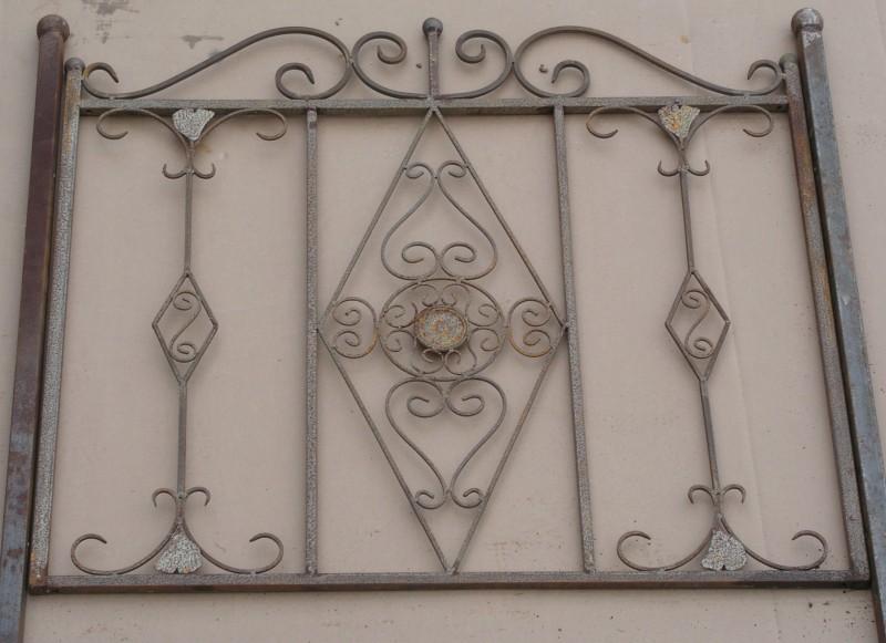 Schmiedeeisen zaun rankzaun vitoria z 100 cm roh rost antik zäune ...