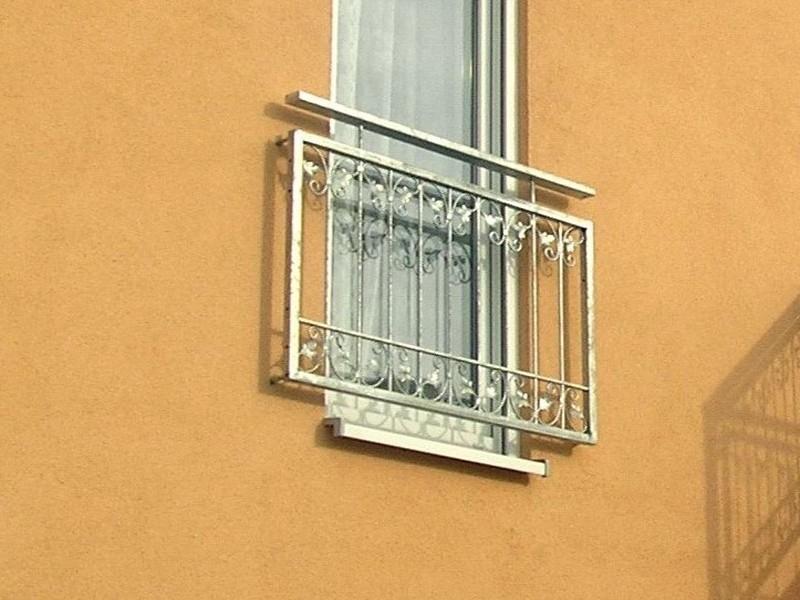 balkon gel nder gitter monaco z100 200 zink z une gartenz une h he 100cm. Black Bedroom Furniture Sets. Home Design Ideas