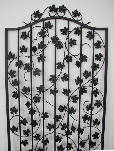 rankgitter spalier rankhilfe bachus sbrg 100 200 feuerverzinkt schwarz gartengestaltung. Black Bedroom Furniture Sets. Home Design Ideas