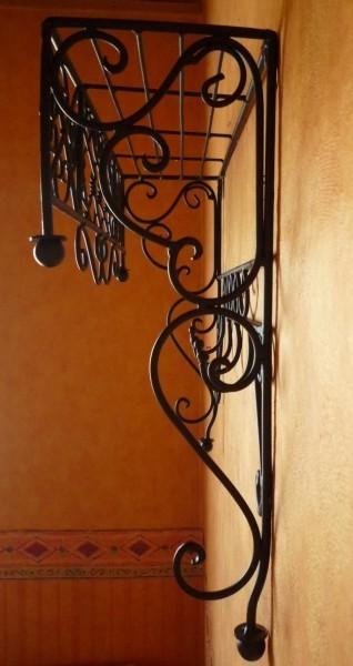 wandregal landhaus eisen schmiedeeisen nostalgie verona3. Black Bedroom Furniture Sets. Home Design Ideas