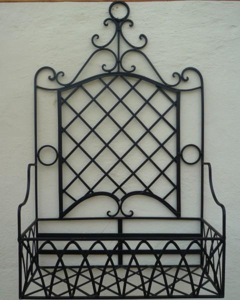 blumenkasten wandregal schmiedeeisen pflanzkasten vicenca3. Black Bedroom Furniture Sets. Home Design Ideas