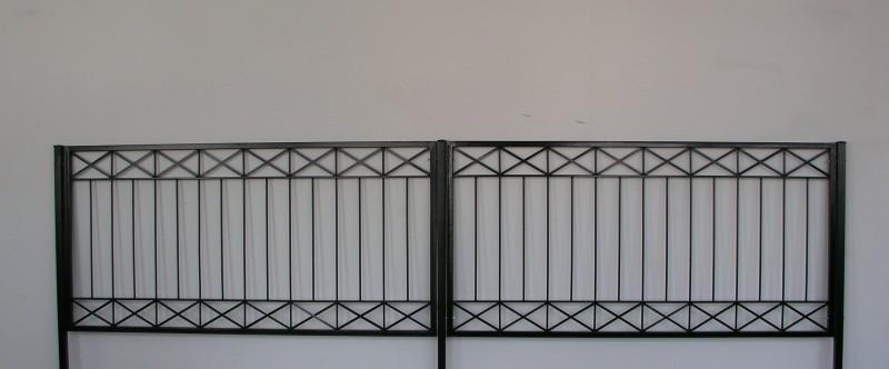eisen zaun zäune balkon tor crossline-z80/200 roh rost zäune, Deko ideen