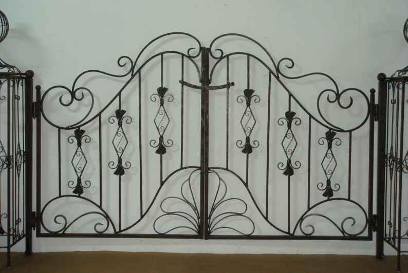eisen antik gartent r gartentor tor pforte vitoria gt180. Black Bedroom Furniture Sets. Home Design Ideas
